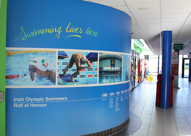 national aquatic centre wall graphics